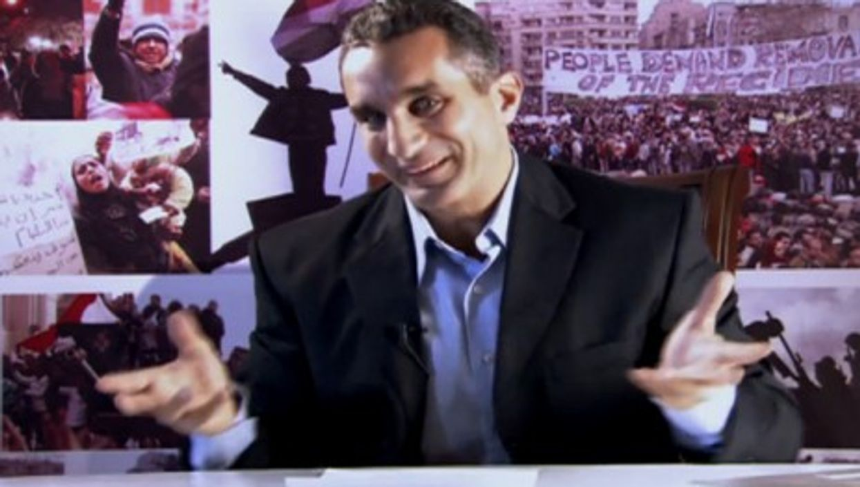 Bassem Youssef takes no prisoners on his YouTube show (bassemyoussefshow)