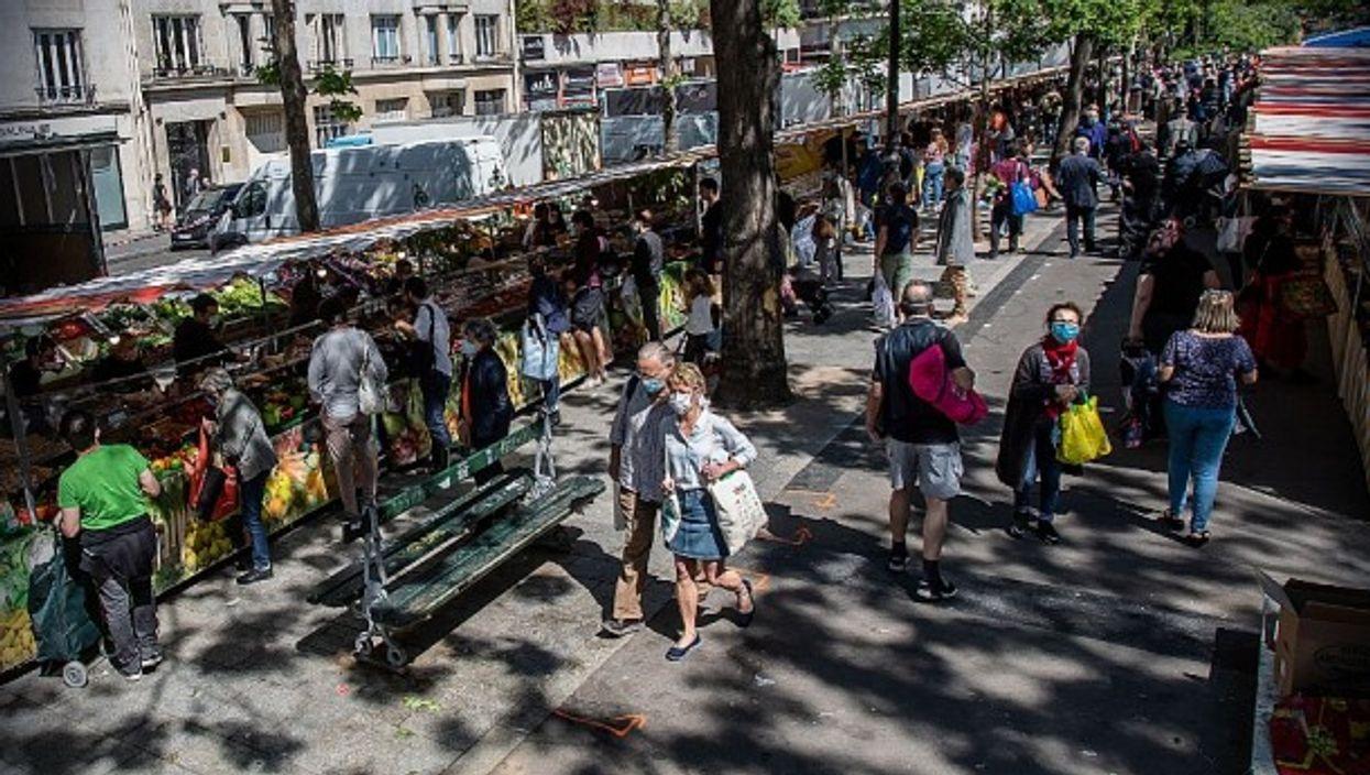 Bastille marketplace, Paris