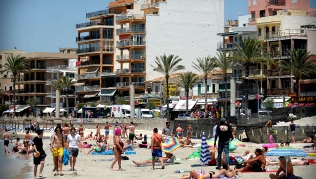 Beach of Palma the Mallorca, Spain