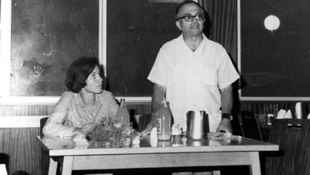 Beate and Serge Klarsfeld in 1975