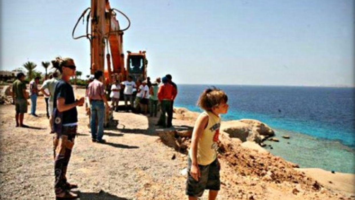 Beautiful but dangerous, Sharm el-Sheikh's Um el-Sid cliffs
