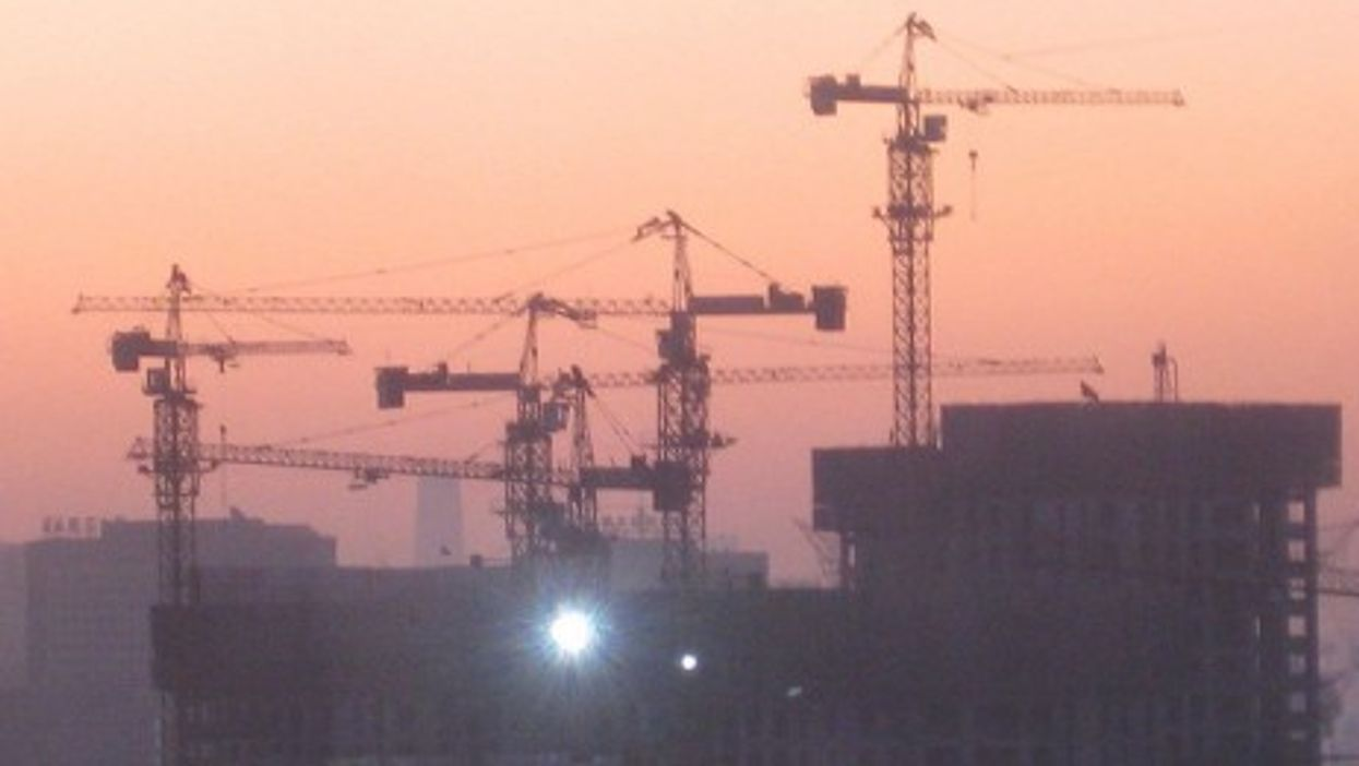 Beijing eternally under construction