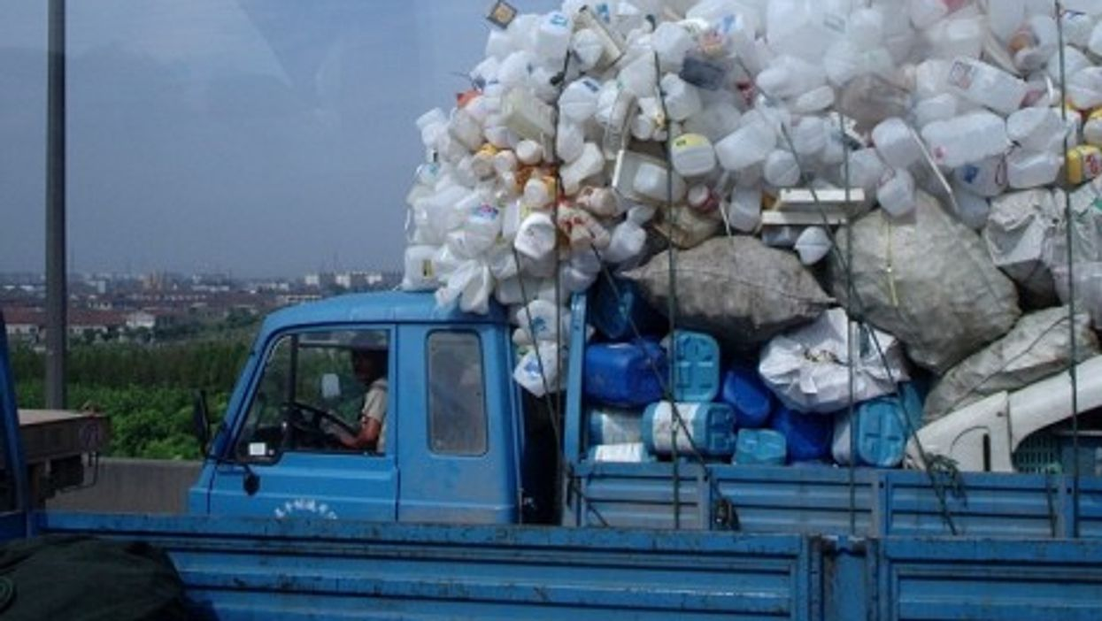 Beijing 's China Metals Recycling Association makes $40 billion a year.