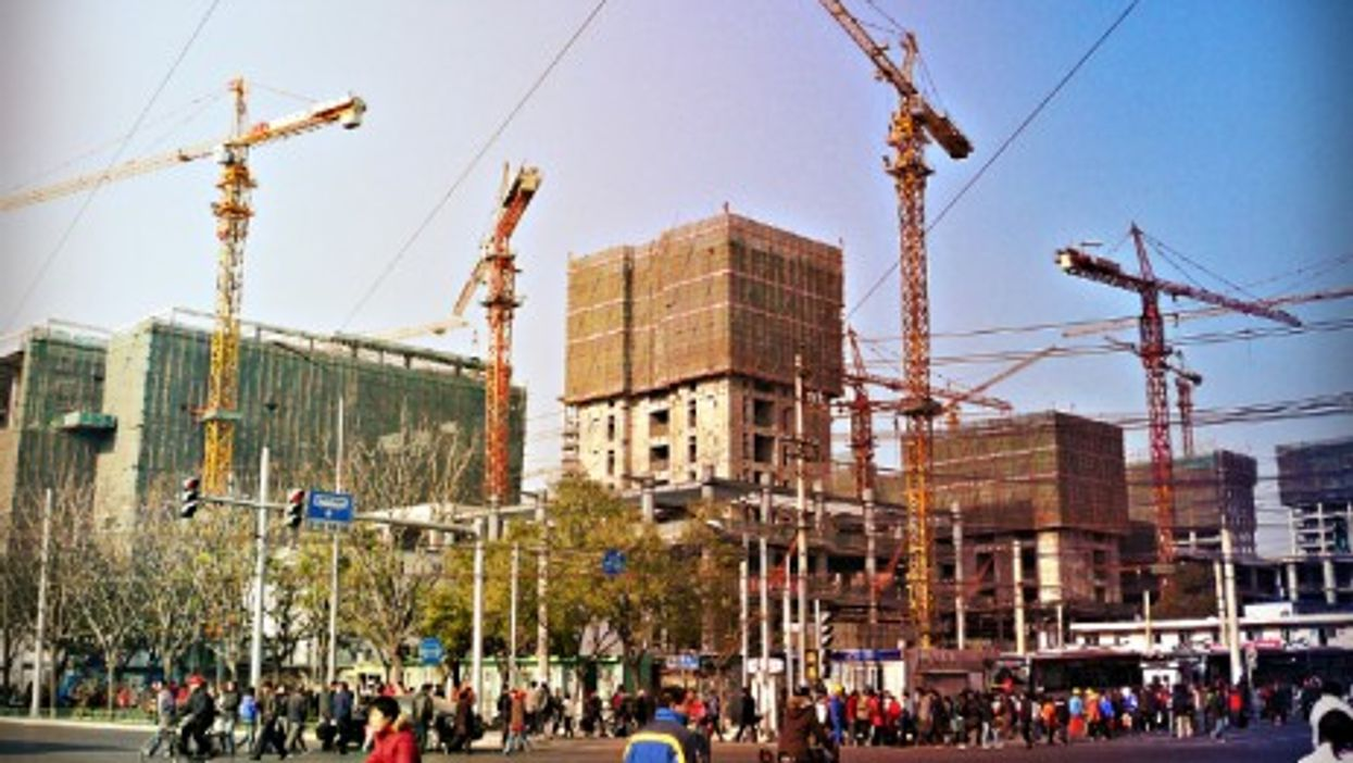 Beijing's uncontrolled urbanization