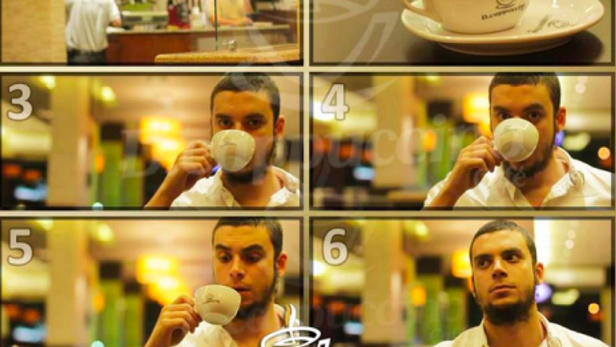 Being hip and halal is that easy! Cairo's D.cappucino cafe