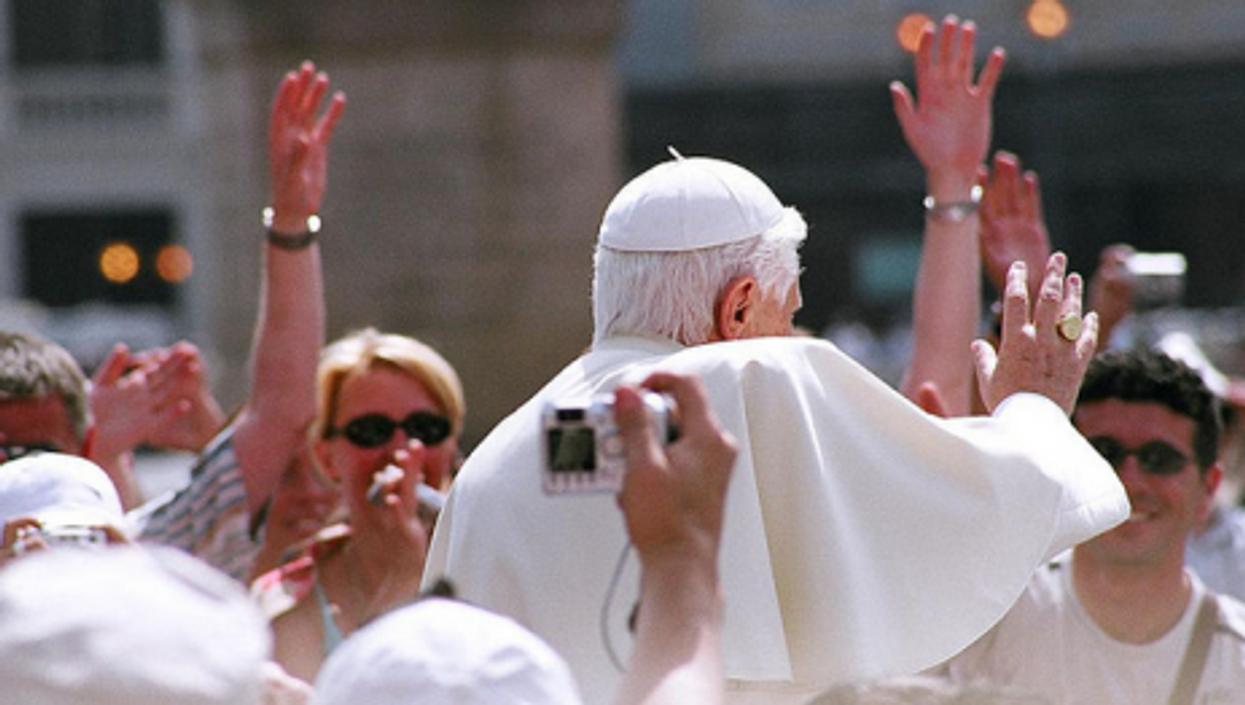 Benedict XVI in a file photo