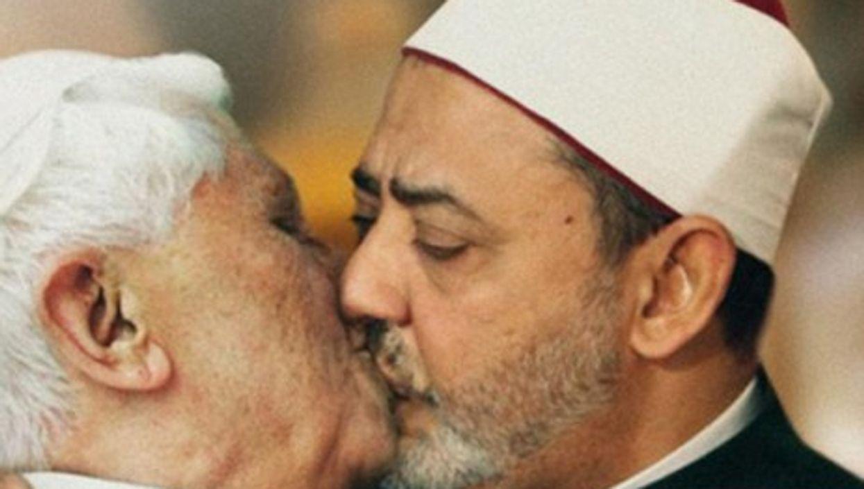 Benetton's controversial Pope-Imam image