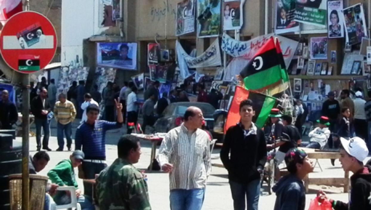 Benghazi's Freedom Square