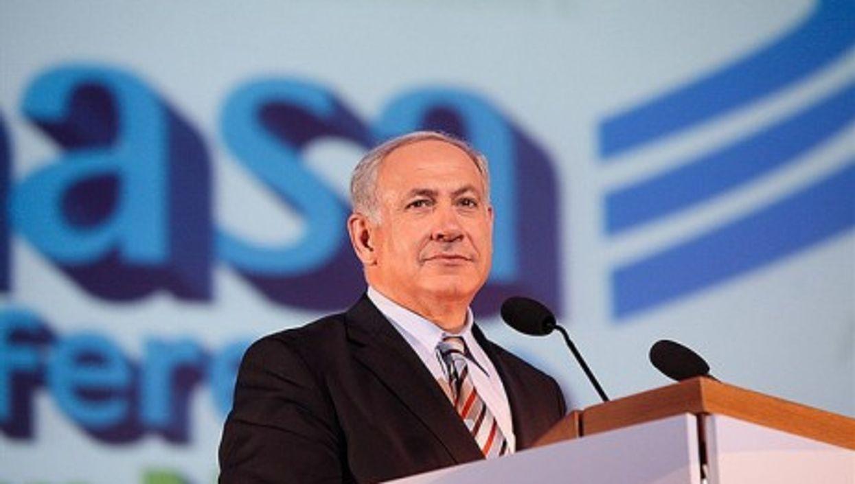 Benjamin Netanyahu at the Masa Israel Journey conference