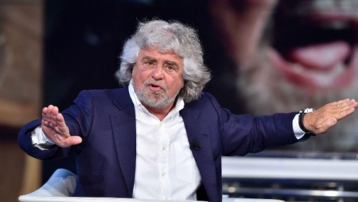 Beppe Grillo, leader of the Italian Five-Star Movement