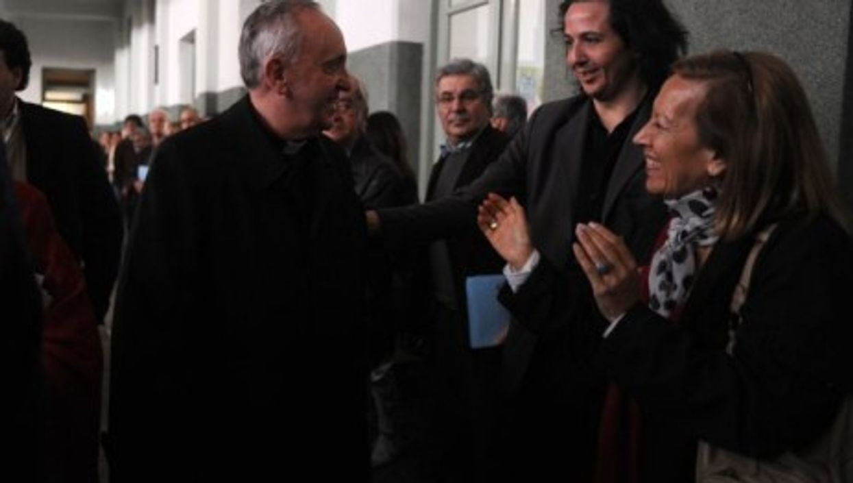 Bergoglio in 2010