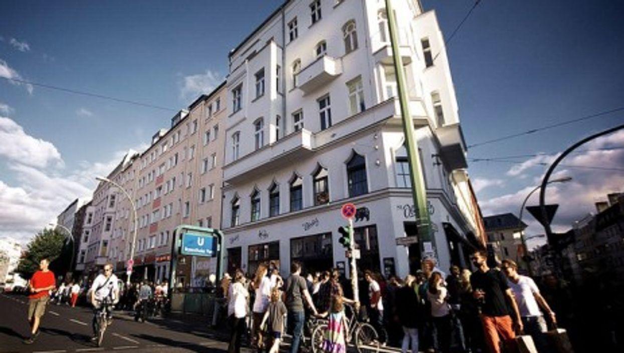 Berlin's Sankt Oberholz cafe