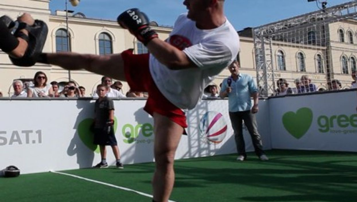 Besim Kabashi, heavy and superheavyweight kickboxing world champion