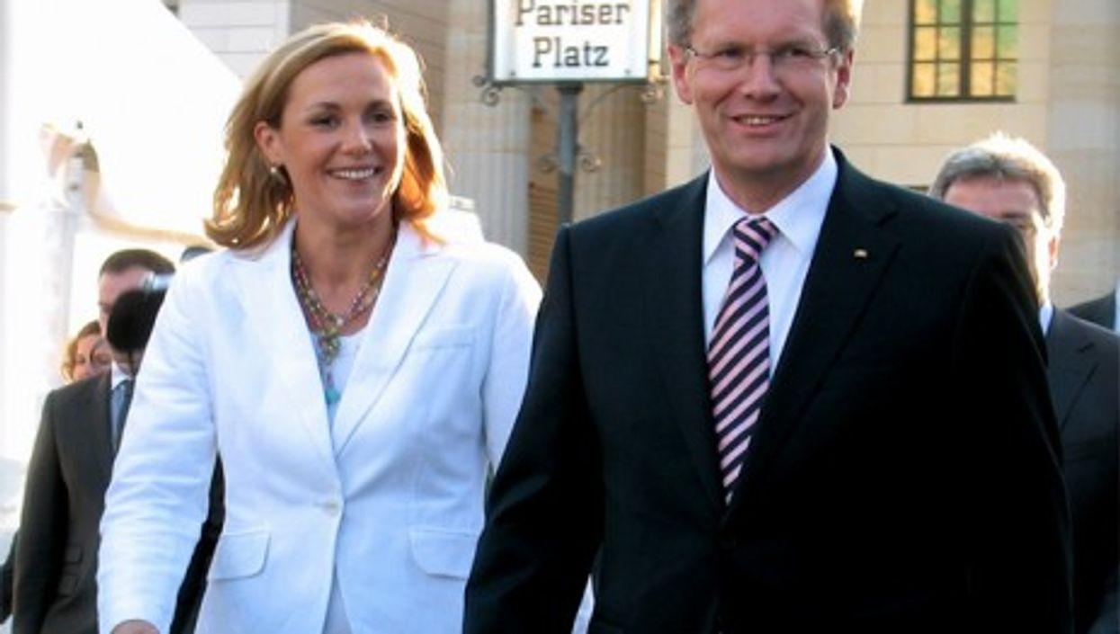 Bettina and Christian Wulff (Wikipedia)