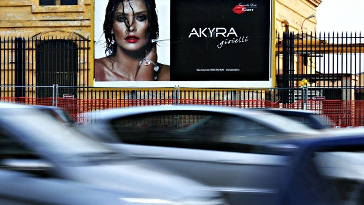 Billboard in Naples