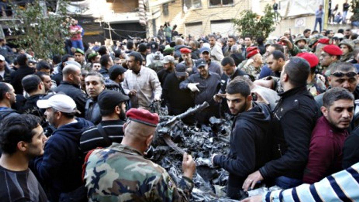 Blast site in Beirut