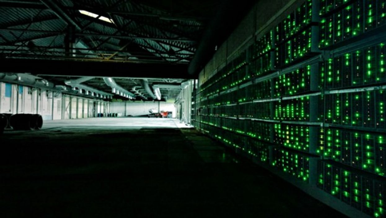 Blockchain servers used in Bitcoin transactions