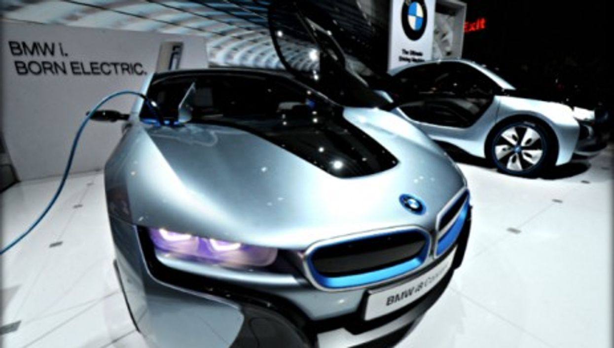 BMW i8 and i3 electric cars