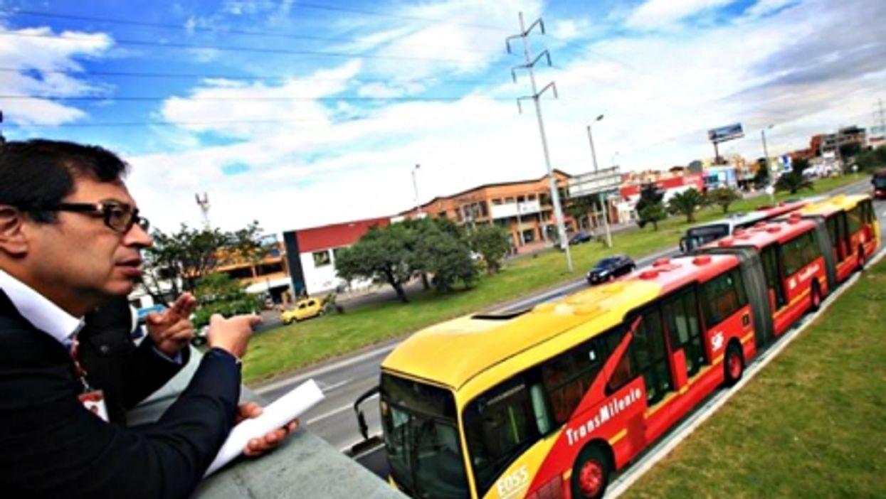 Bogota's Transmilenio bus system