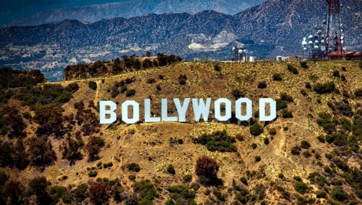 Bollywood hill montage