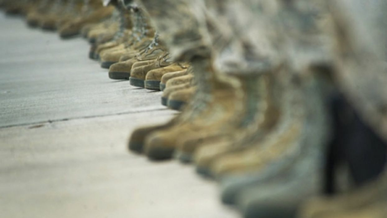 Boots on the ground?