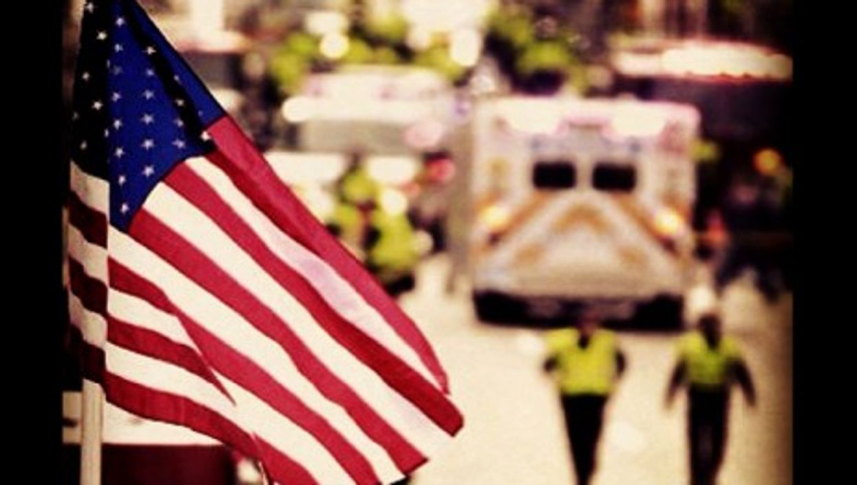 Boston, after the attack that killed three people and wounded more than 100.