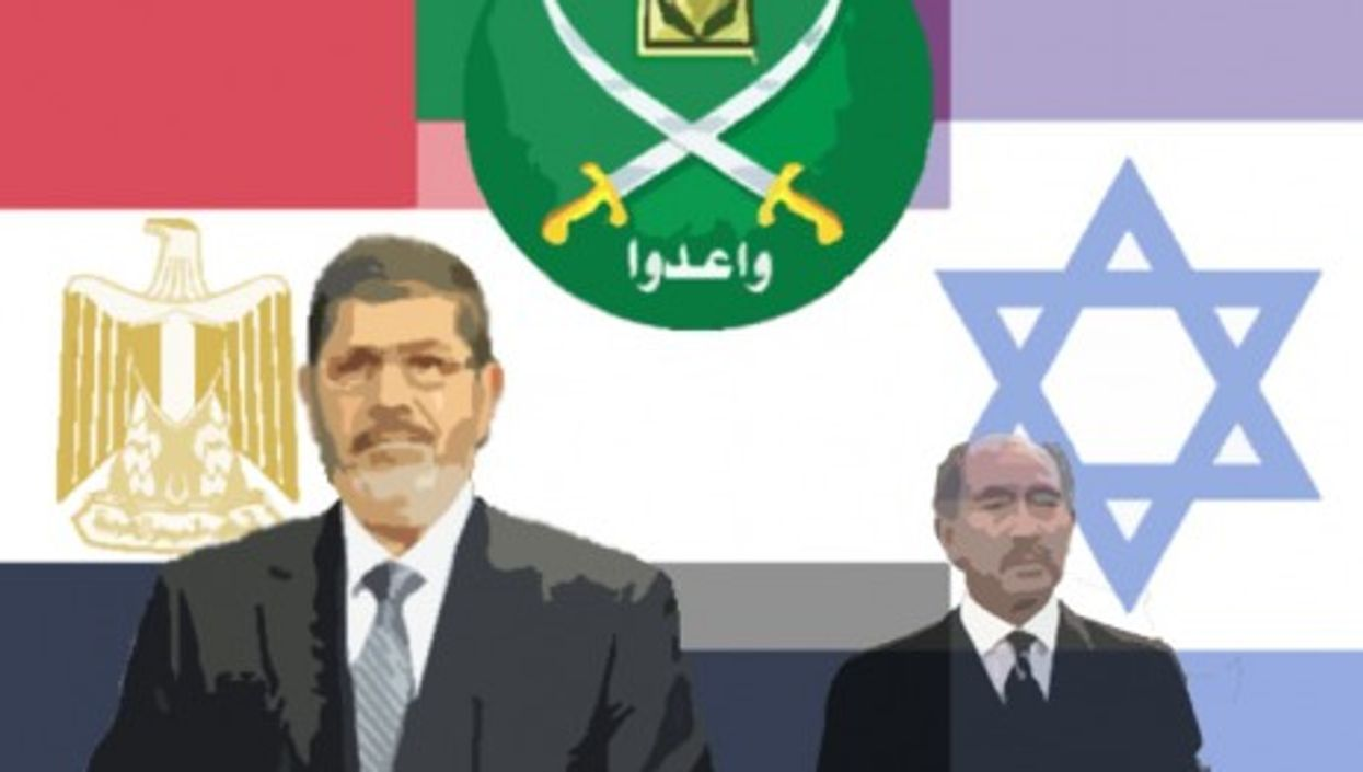 Both Morsi and Sadat have altered their stances towards Israel
