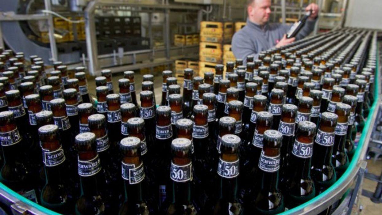 Bottling beer in Germany