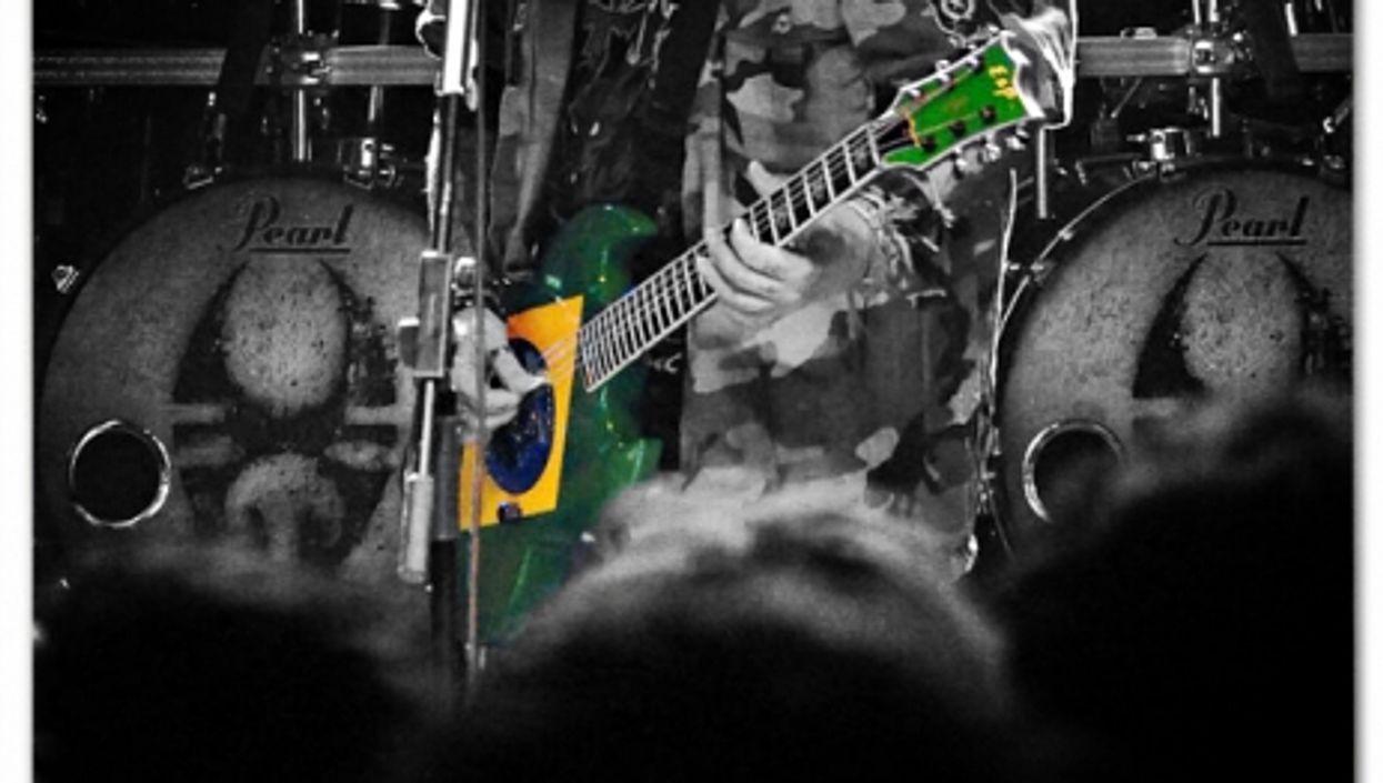 Brazil-born Max Cavalera, frontman of heavy metal band Soulfly