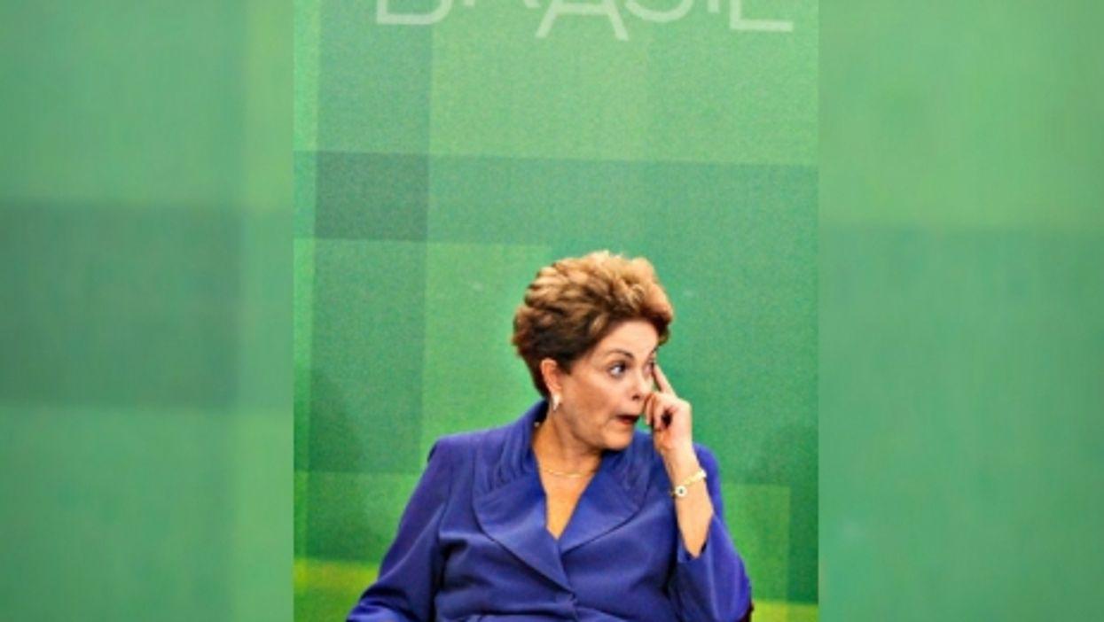 Brazilian President Dilma Rousseff on March 18