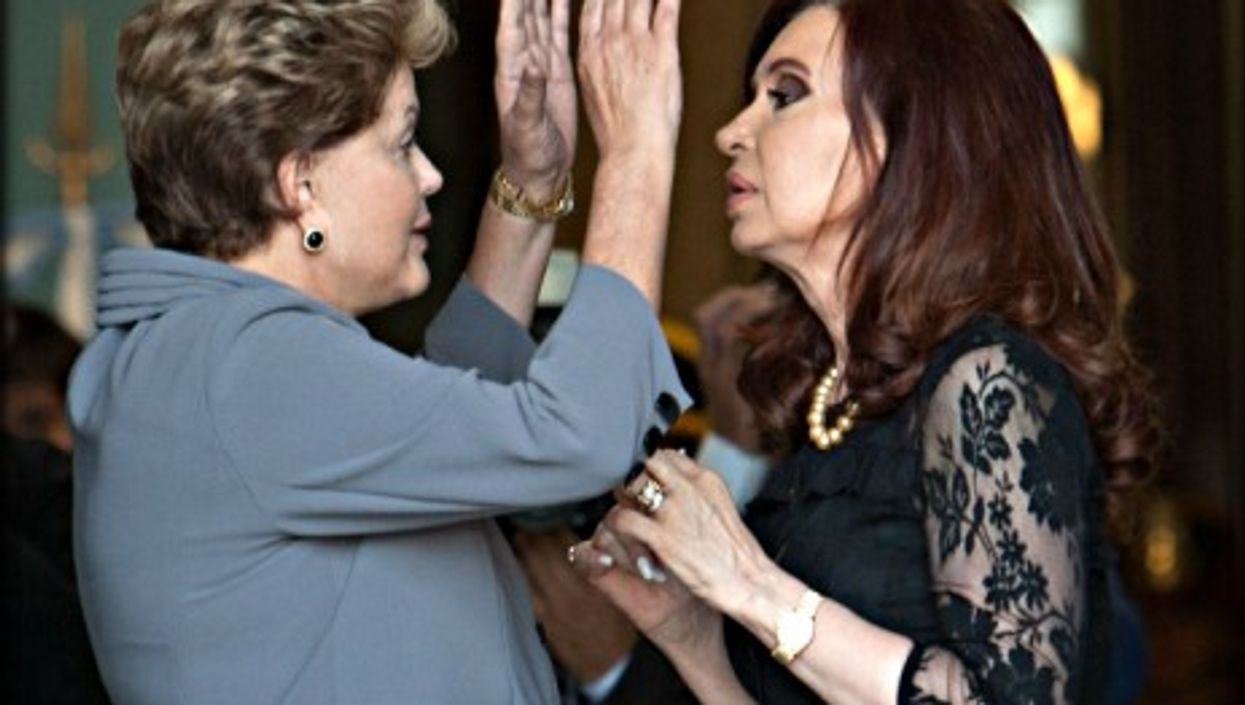 Brazil's Dilma Rousseff and Argentina's Cristina Kirchner -- the exceptions that prove the rule