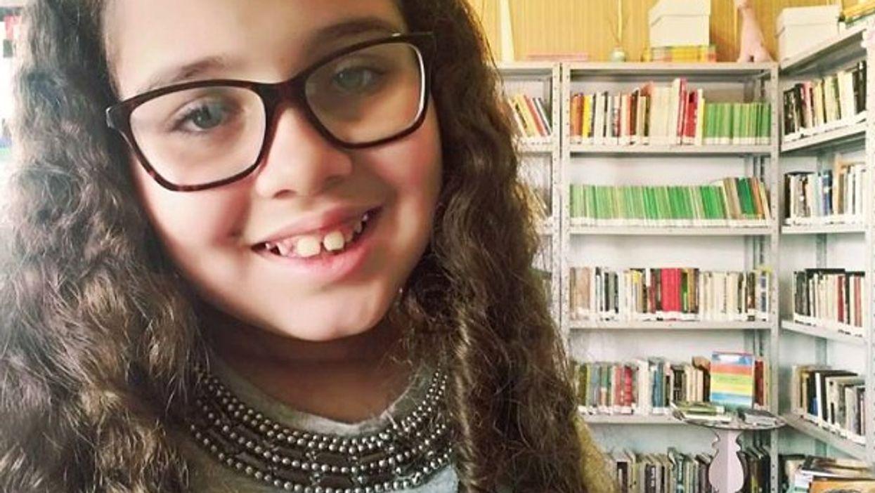 Brazil's young bookworm Kaciane do Nascimento