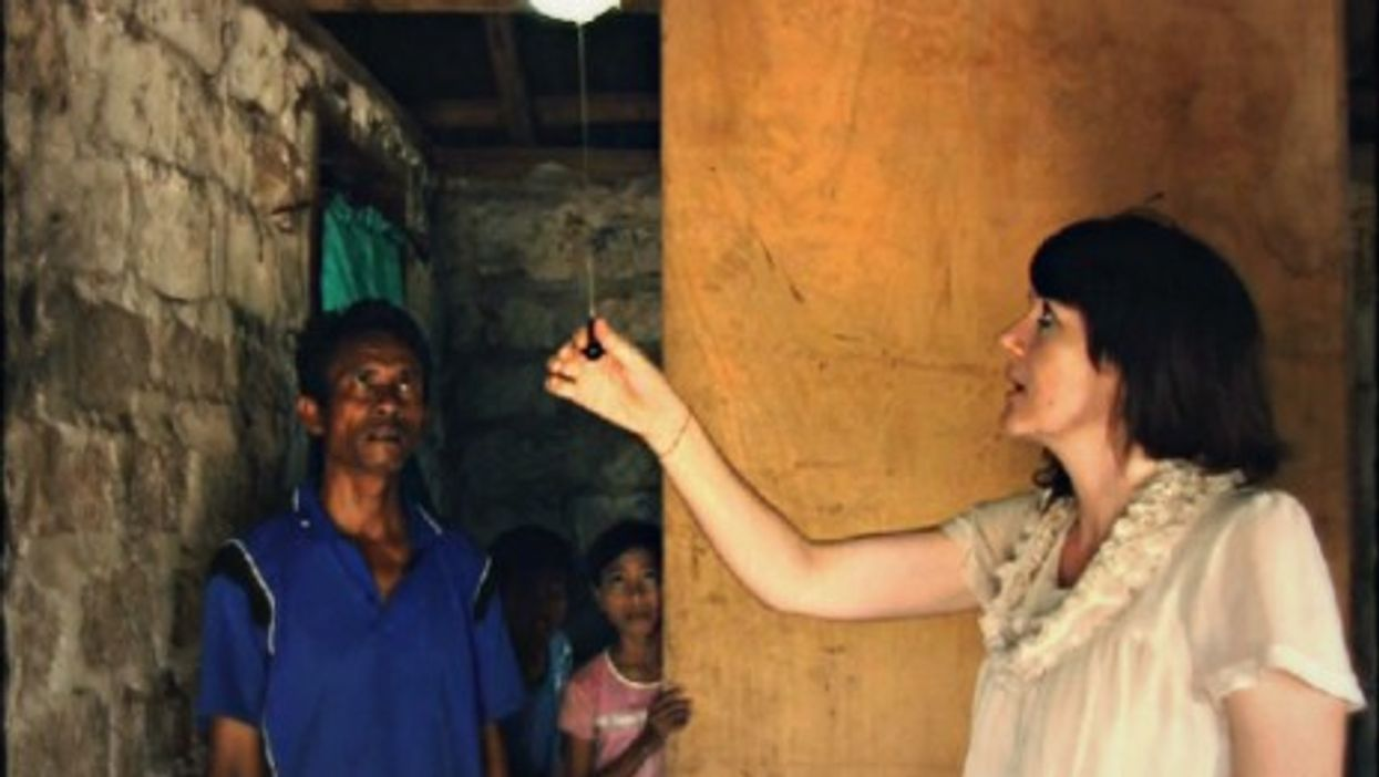 Bringing electricity - among other things - to Sumba