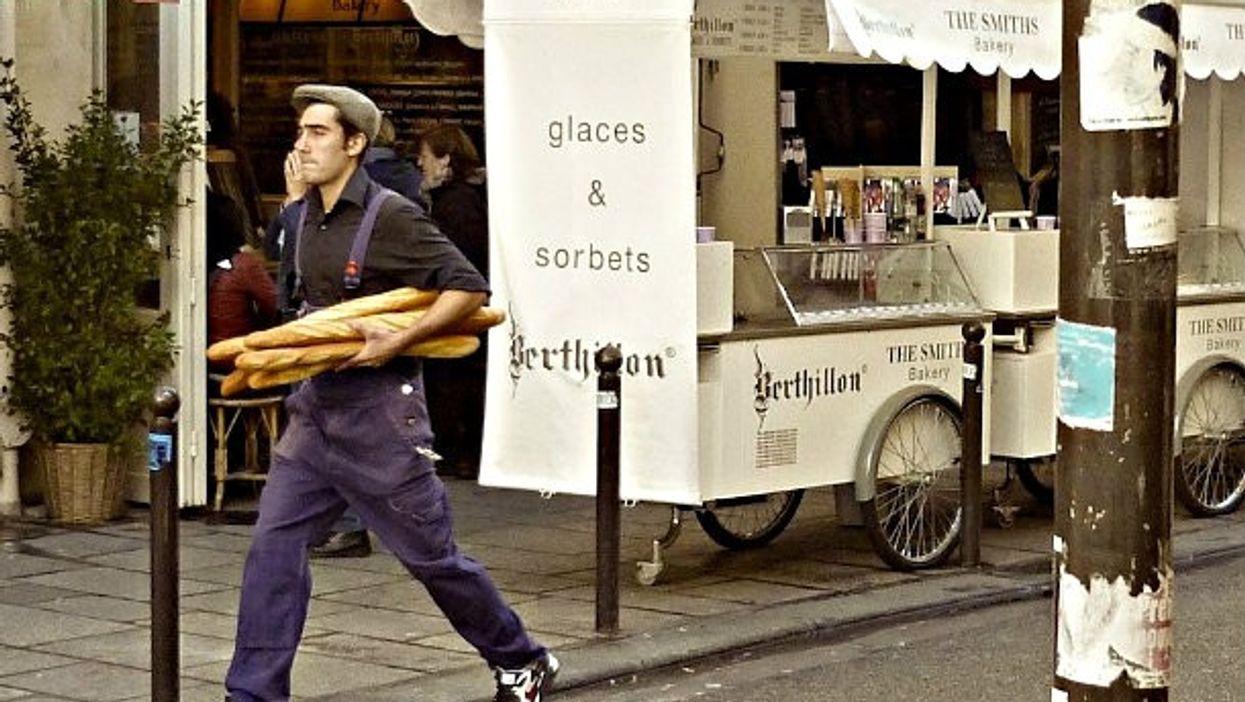 Bringing home the baguette
