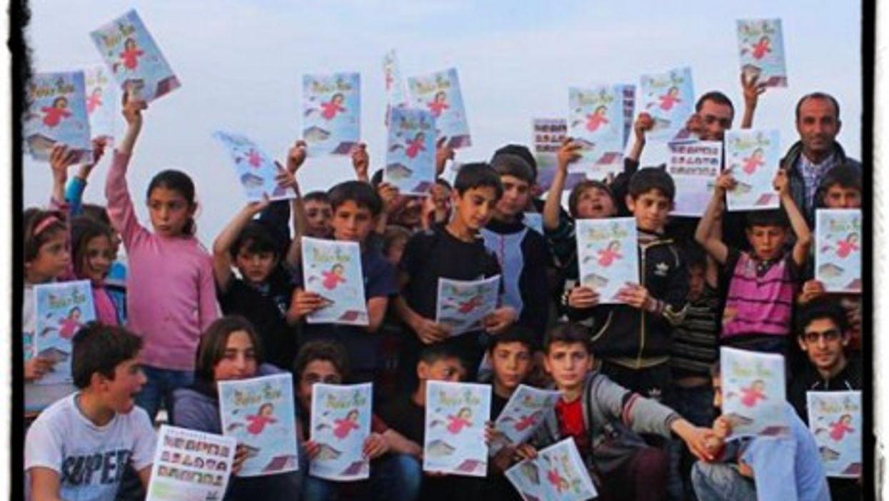 Bringing hope to Syria's children.