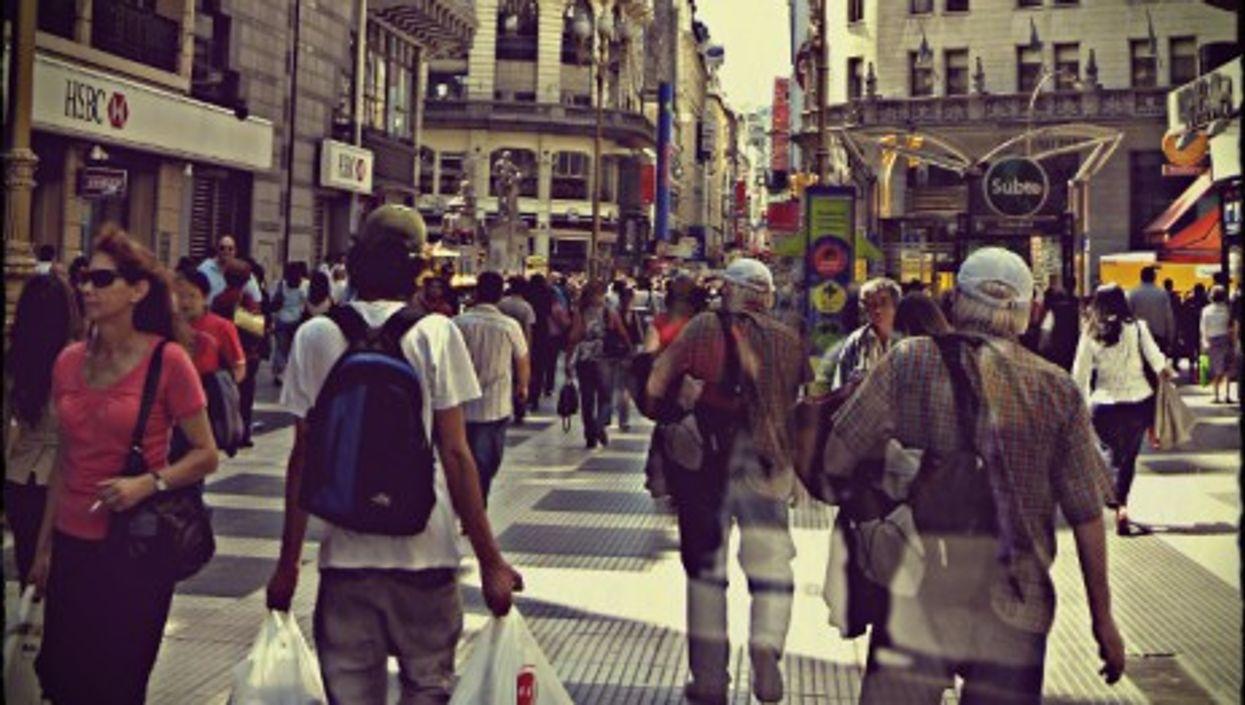 Buenos Aires' Florida Street