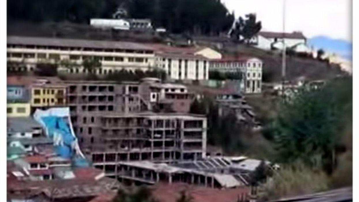 Building Cuzco's new Sheraton hotel