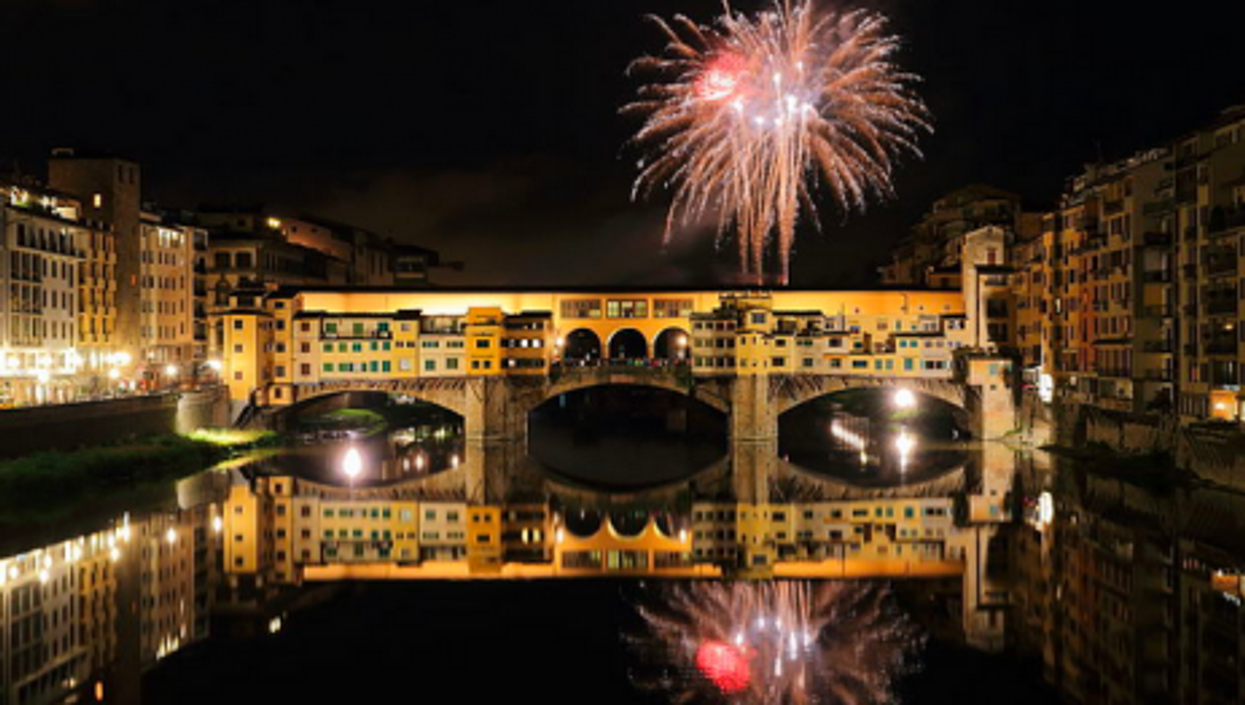 Buon Anno!!...from the Ponte Vecchio in Florence, Italy