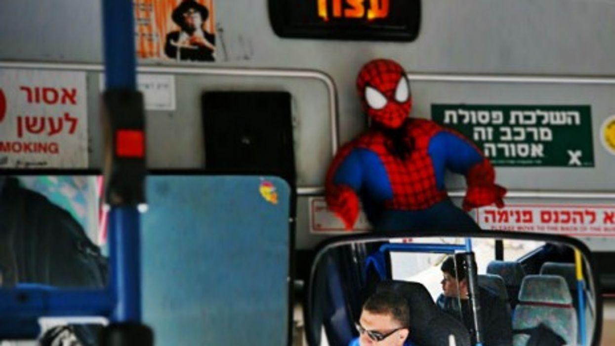 Bus driver in Jerusalem