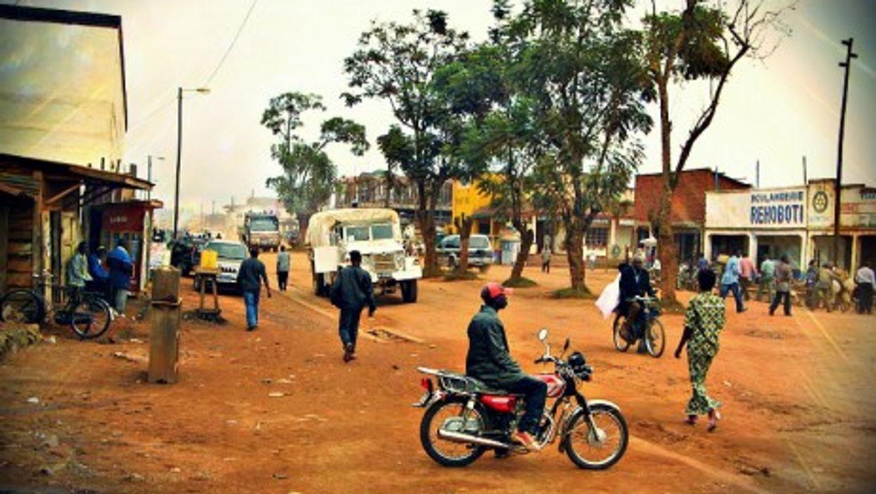Butembo's main street
