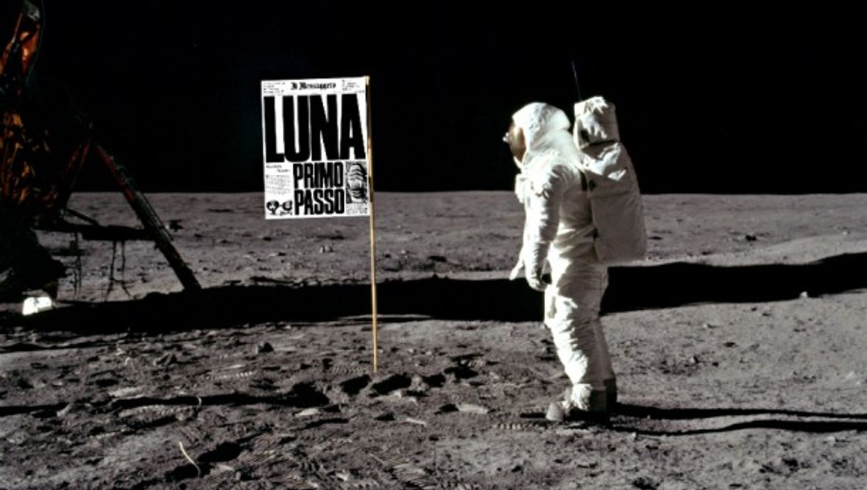 Buzz Aldrin making headlines