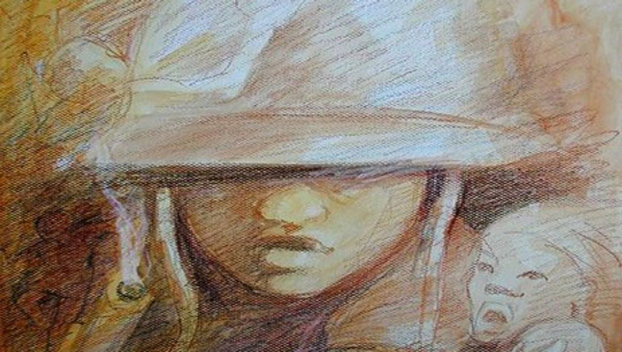 By one estimate, there are some 250,000 child and adolescent soldiers in the world (Gilbert G. Groud)