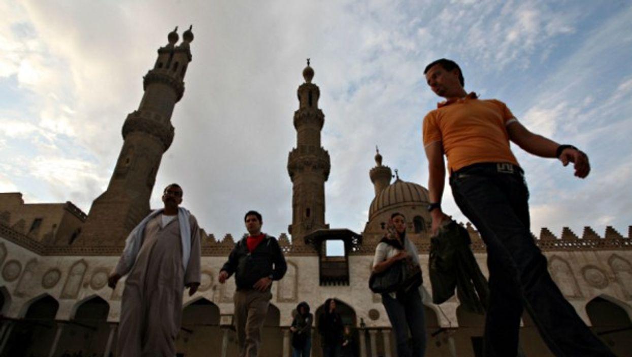 Cairo's Al-Azhar mosque and university