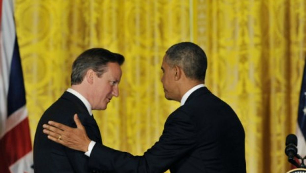 """Cameron and Obama together penned a op-ed for Thursday's edition of """"The Times"""" about evolving global challenges."""