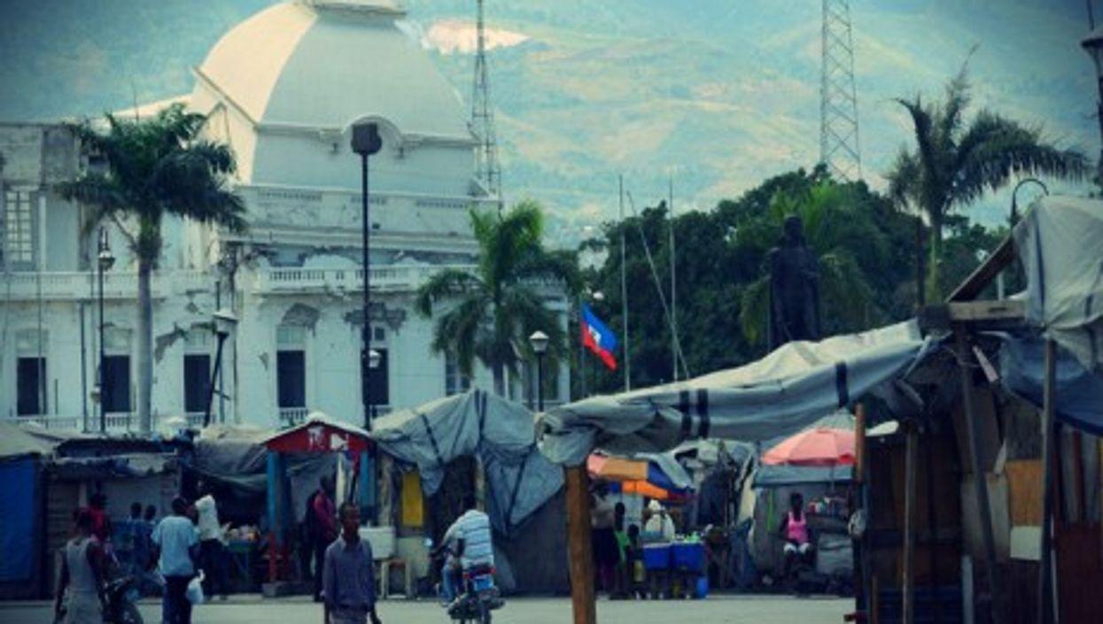 Camps on Port-au-Prince's Champ de Mars