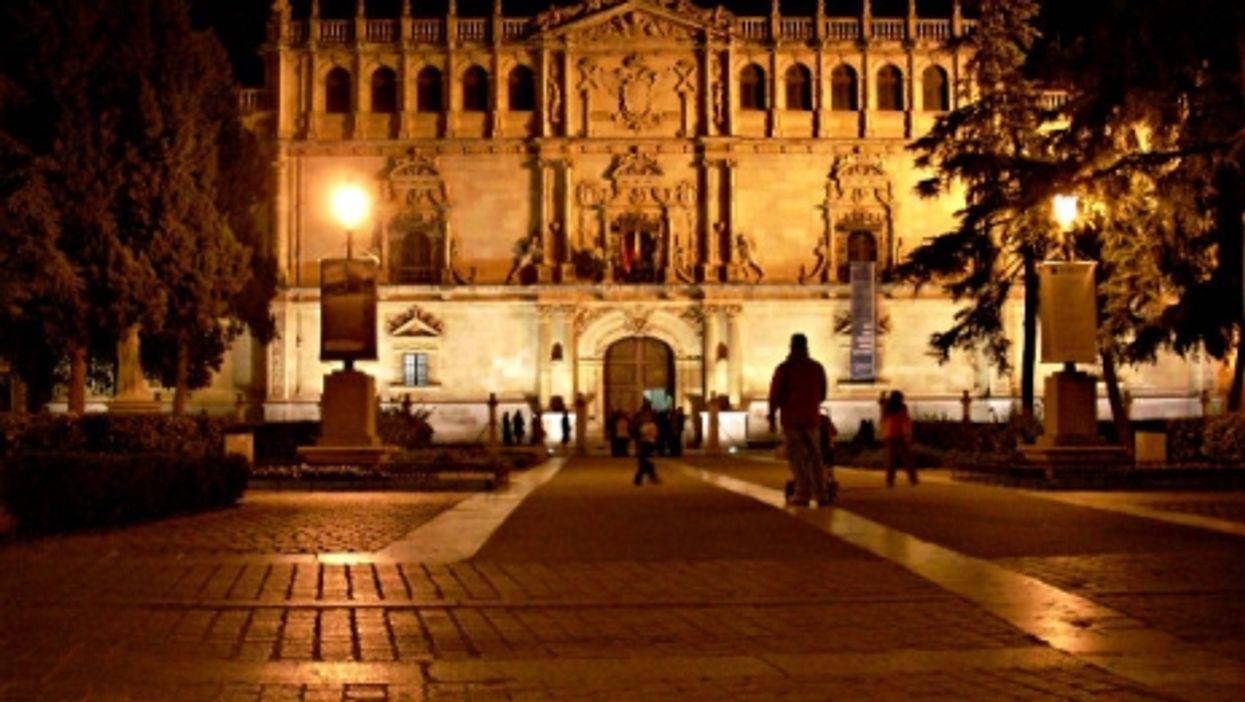Campus shadows in Spain