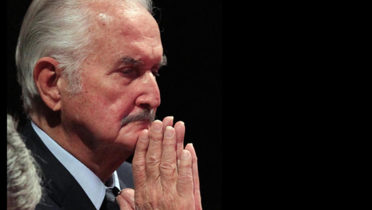 Carlos Fuentes in Mexico City in December 2011