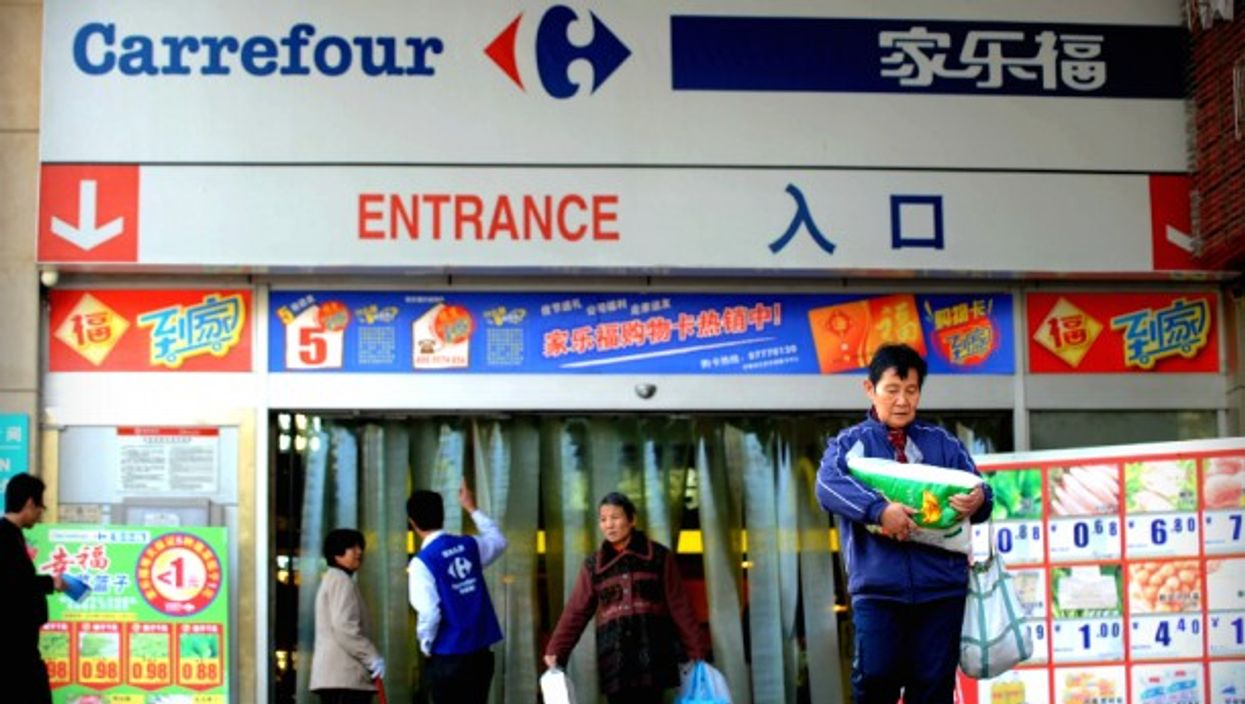 Carrefour will sell its operations in China