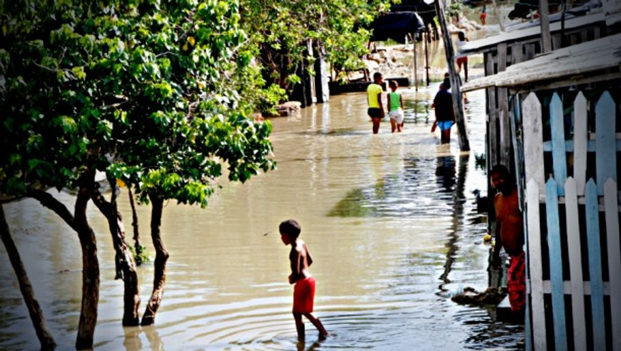 Cartagena flooded