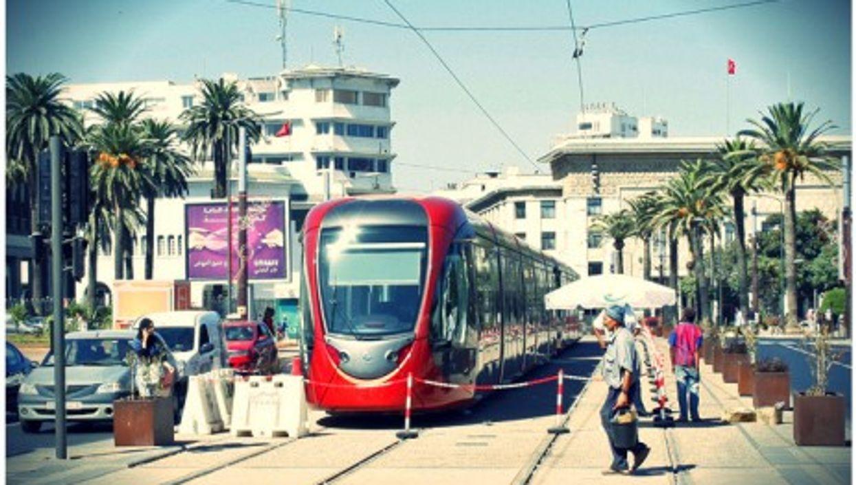 Casablanca's RATP tramway